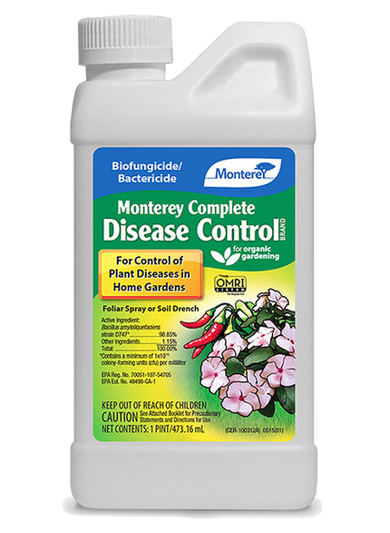 Monterey Complete Disease Control 16 oz. OMRI Listed