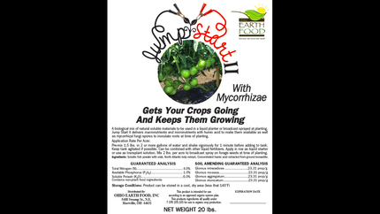 Jumpstart II with Mycorrhizae 4-1-6*