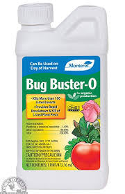 MONTEREY BUG BUSTER-O (1.4% Pyrethrin) OMRI listed
