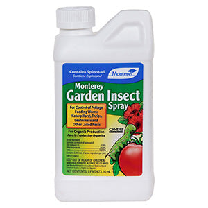 MONTEREY GARDEN INSECT SPRAY (Spinosad) OMRI listed