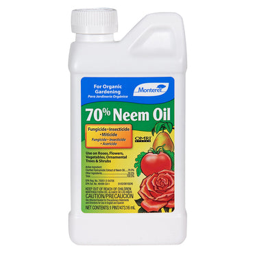 MONTEREY 70% NEEM OIL OMRI listed