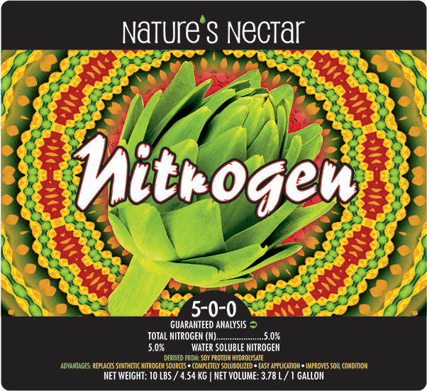 NATURE'S NECTAR NITROGEN 5-0-0  CDFA listed