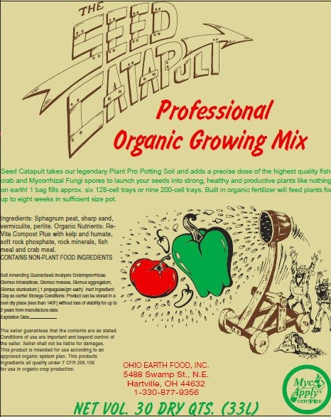 THE SEED CATAPULT professional organic growing mix*