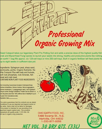 THE SEED CATAPULT professional organic growing mix