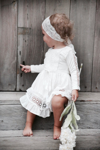IVORY HARMONY DRESS - Tea Princess