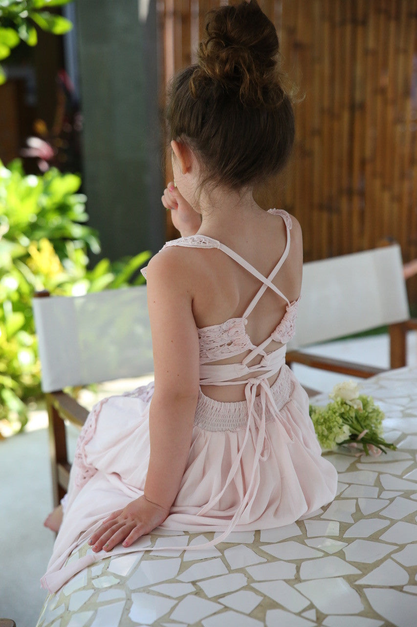 SECOND - Isla Maxi Dress Pink