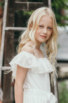 Finlay Tween Ivory Lace Dress