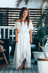 Dusk Dress Off White Tween