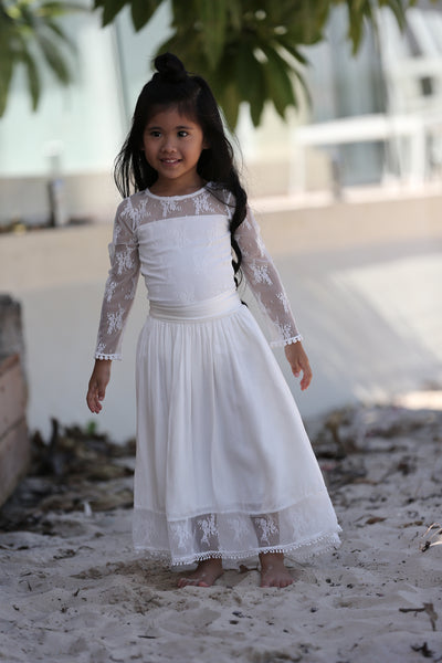 Nixie Skirt & Lace Bodysuit -SALE - sizes 2-4 years