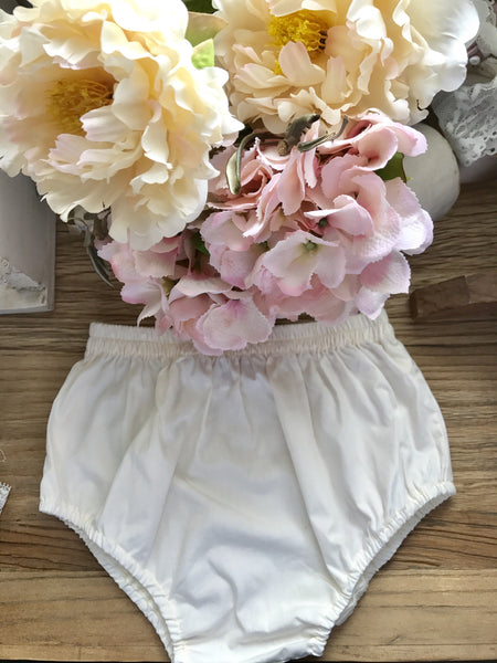 Butter cream colour bloomers