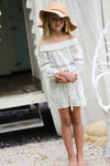 Aruba Playsuit Off White - Tea Princess