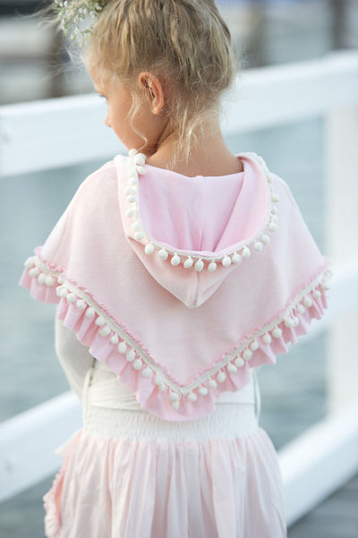 SAMPLE MAEBRY PINK PONCHO