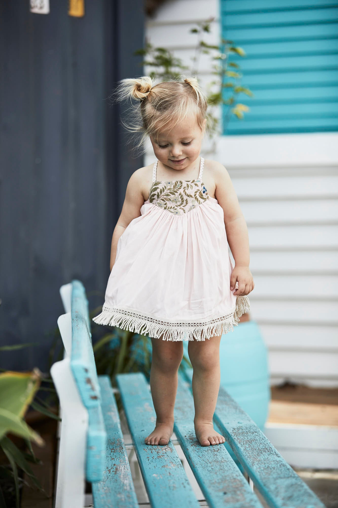 Polly Dress with bloomers