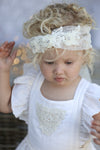 Molly Spot Tulle Headpiece