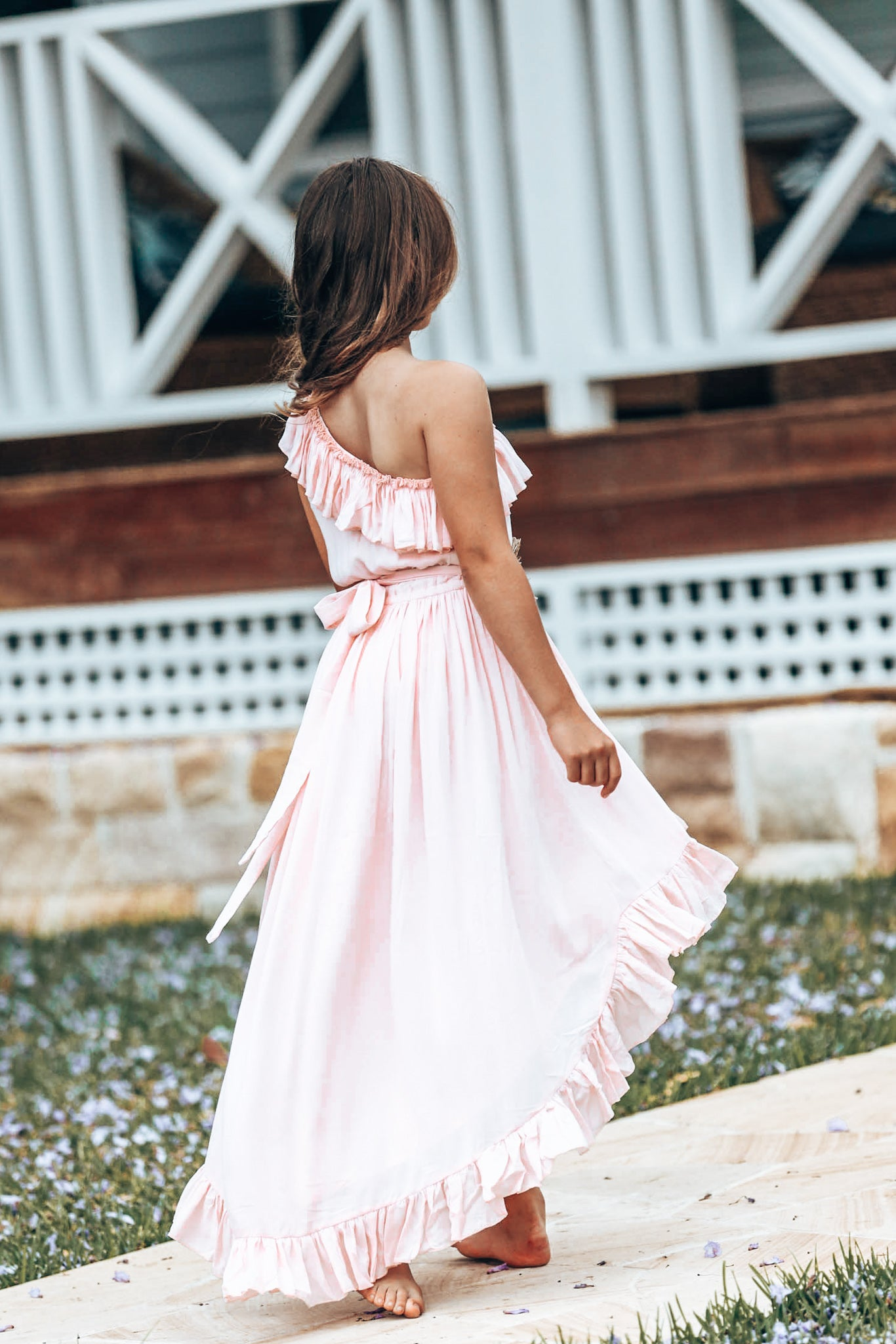 Ocean pink dress Tween- Last one left