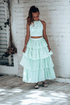 Parasol Spearmint skirt