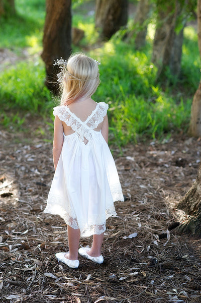 French Vanilla Dress Ivory/Off White Lace