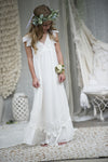 Wren Maxi Dress - Off white