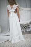 Wren Maxi Dress - Off white/ Ivory