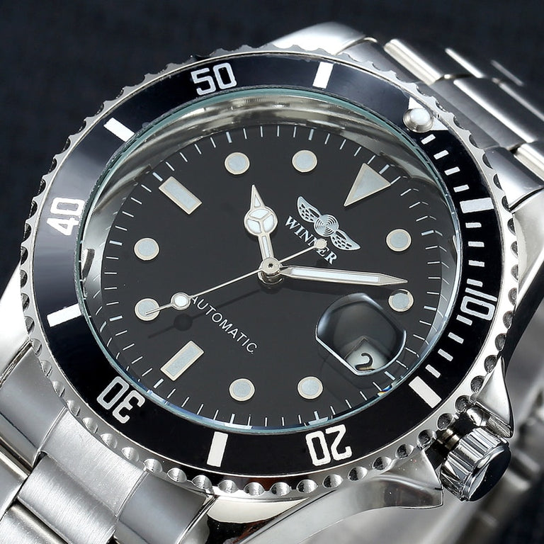 Winner Luxury Men's Watch Automatic  Watch