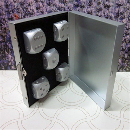 Aluminum Alloy Board Game Dice