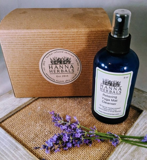 Relaxing Yoga Mat Cleanser - lavender - essential