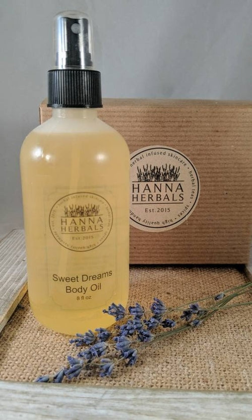 Sweet Dreams Body Oil - massage oil - essential