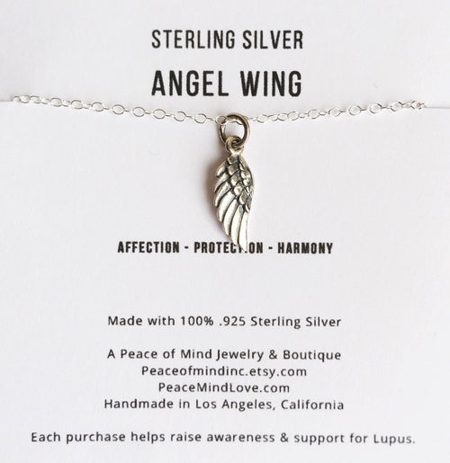 Protection & Harmony - Angel Wing Sterling Silver
