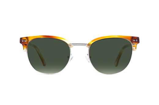 Hudson - Honey Oak Sunglasses