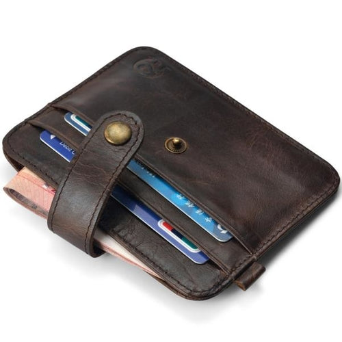 Mens PU leather wallet