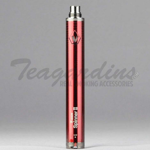 Vision Spinner 2 1600 MaH Battery Red