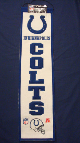 Indianapolis Colts Heritage Banner