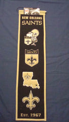 New Orleans Saints Heritage Banner