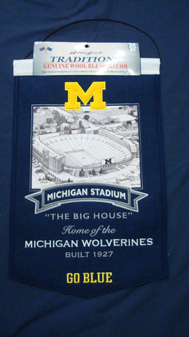 Michigan Wolverines Stadium Banner