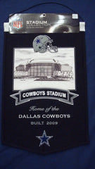 Dallas Cowboys Stadium Banner