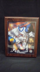 Milwaukee Brewers Retro Plaque