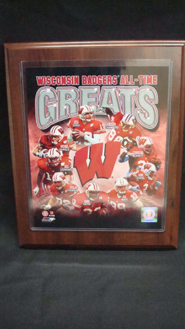 Wisconsin All Time Greats Plaque