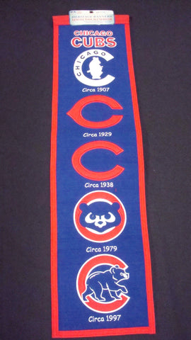 Chicago Cubs Heritage Banner