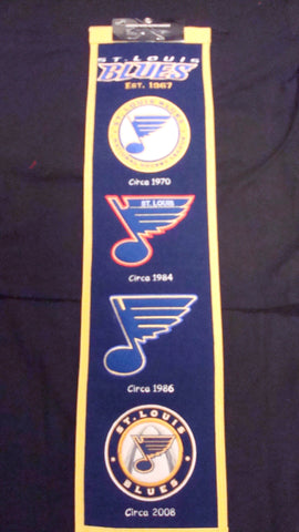 Saint Louis Blues Heritage Banner