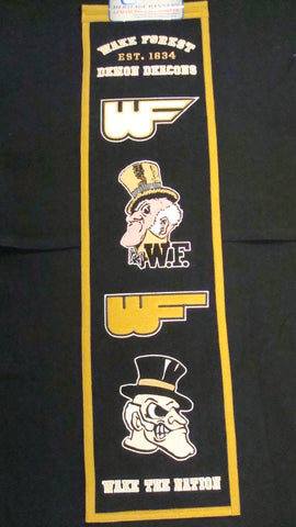 University of Wake Forest Heritage Banner