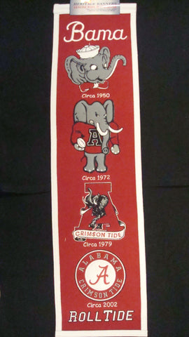 University of Alabama Heritage Banner