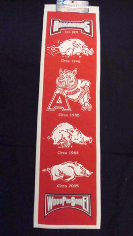 University of Arkansas Heritage Banner