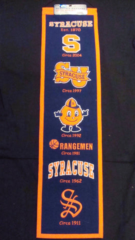 University of Syracuse Heritage Banner