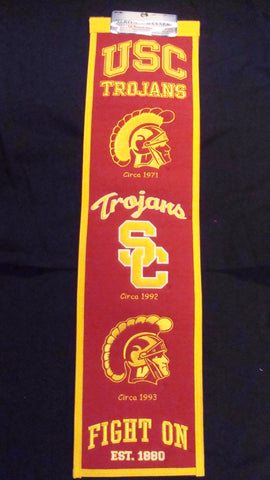 University of Southern California Heritage Banner