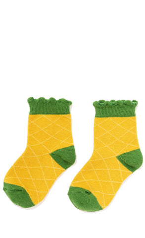 Hansel from Basel socks - Pineapple crew