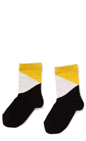 Hansel from Basel socks - diamond crew black