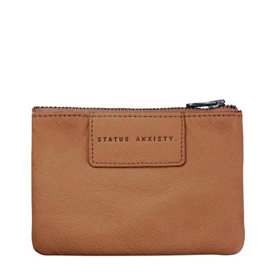 Status Anxiety Anarchy Purse in Tan