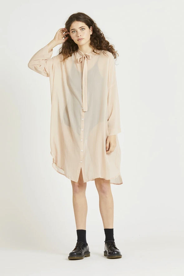 Widdess Beau Dress - Blush