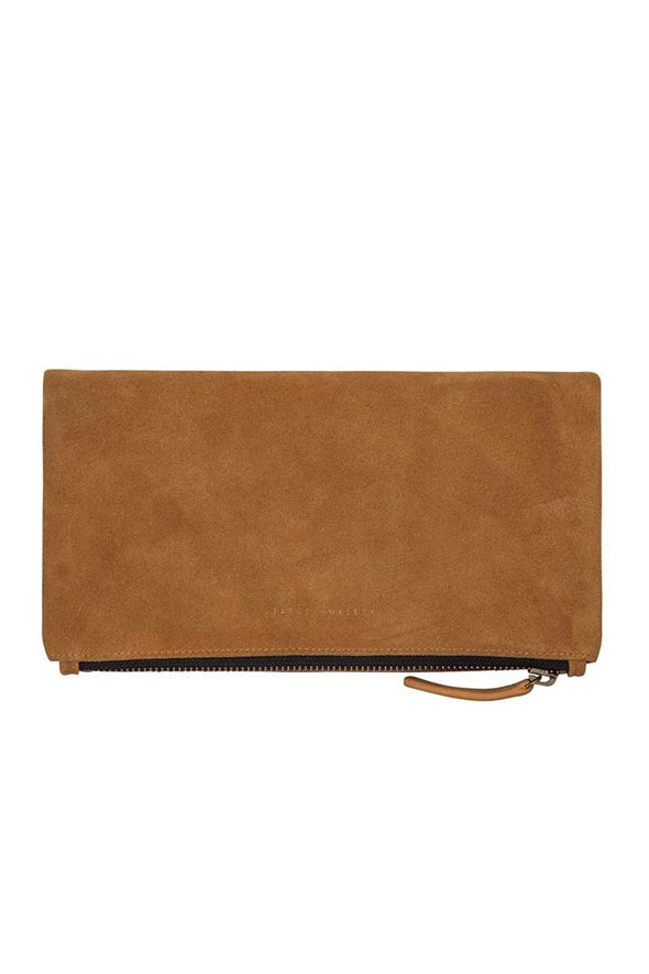 Status Anxiety Feel The Night Clutch - Tan