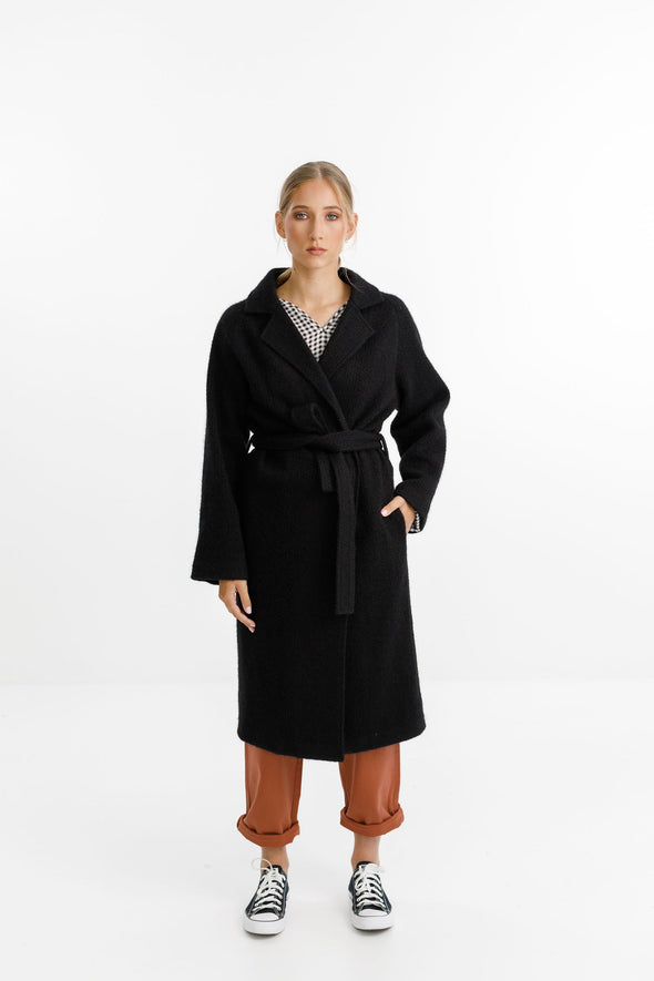Thing Thing Clement Coat - Black